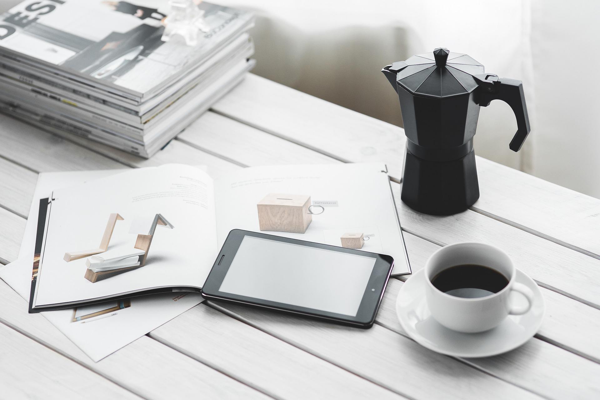 książka do kawy