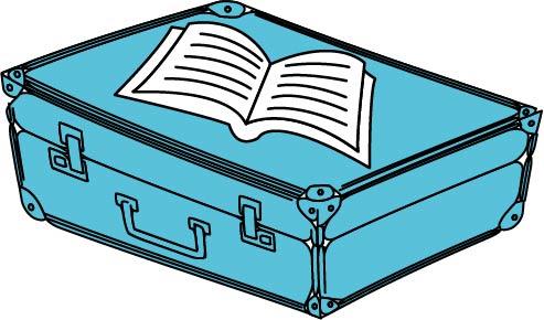 Czytaj na walizkach