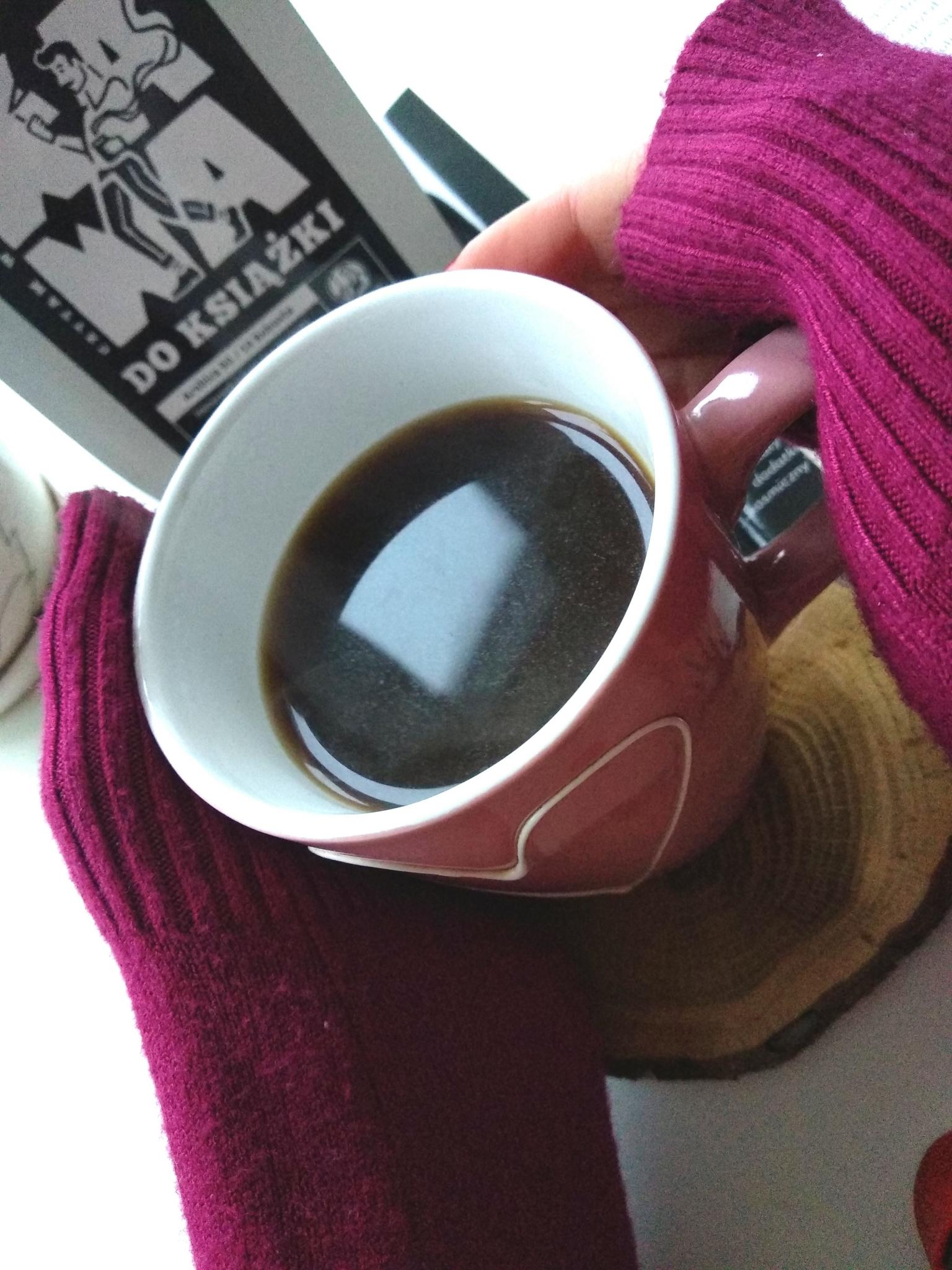 kawa i książka