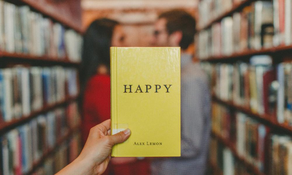 Dedykacja do książki happy book