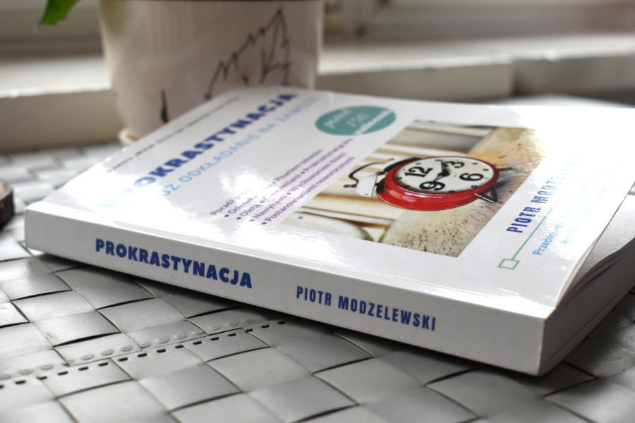 prokrastynacja odłóż odkładanie na zawsze książka