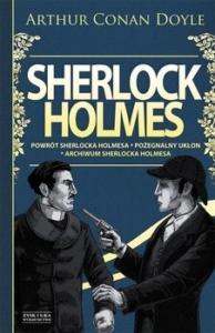 Postaci męskie w książkach - sherlock holmes