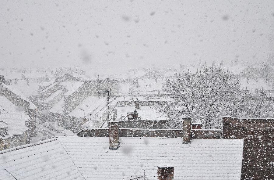 zima śnieg, warszawa zimą