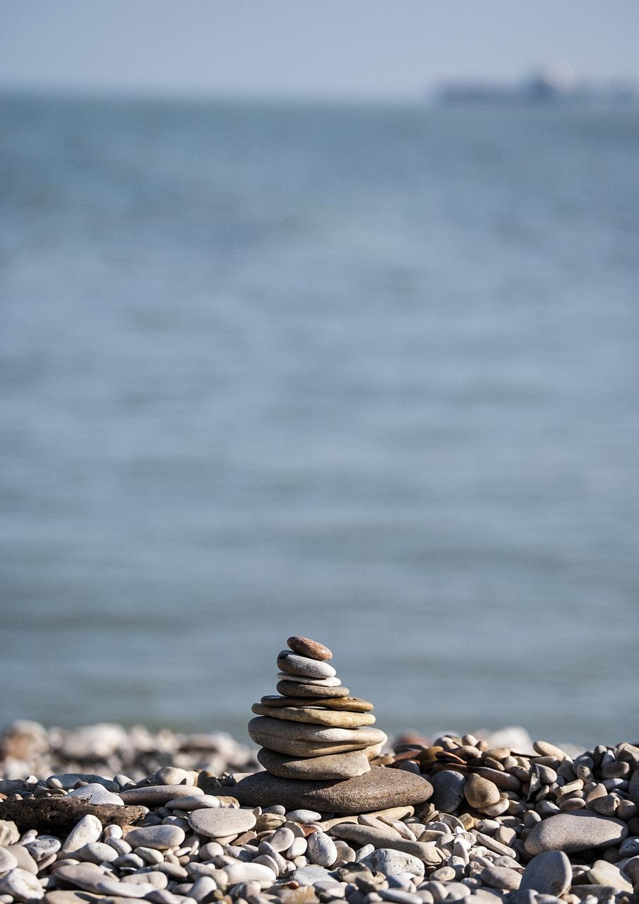 zdrowie psychiczne - kamienie